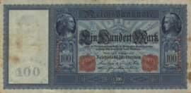 Duitsland R38 100 Mark 1909