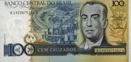 Brazilië P211.b 100 Cruzados 1986-88 (No date)