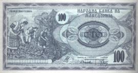 Macedonië P4 100 Denar 1992