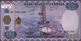 Rwanda P40.a 2.000 Francs 2014