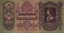 Hongarije P98 Szâz Pengo 1930