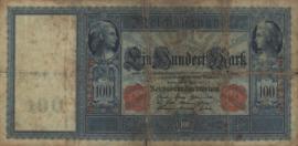 Duitsland P42.a. Stempel Hoboken 100 Mark 1910