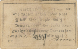 1 Rupee 1917.07.01. Ros 936.b