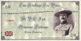 MPC Fest Overseas Exchange L/2003 2/6.- 2 Shillings 6 Pence 2003