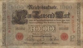 Duitsland P39 1.000 Mark 1909