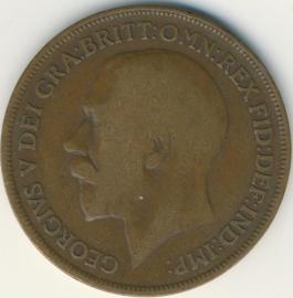 Engeland 1 PENNY 1913 KM# 810