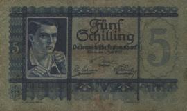 Oostenrijk P93 5 Schilling 1927