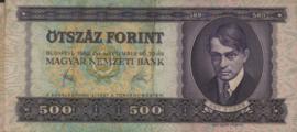 Hongarije P172 500 Forint 1980