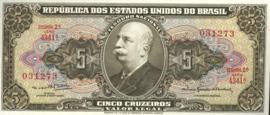 Brazilië P176.d 5 Cruzeiros (old) 1962-1964 (No Date)