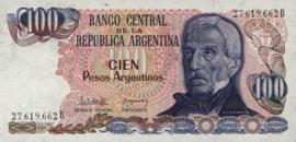 Argentinië P315.a 100 Pesos Argentinos 1983-85 (No date)