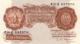 Engeland/VK P368.c 10 Shillings 1948-1960 (No date)