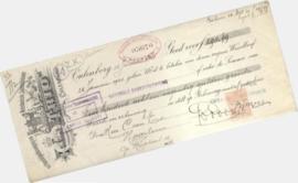 Cheques, Facturen, Wissels