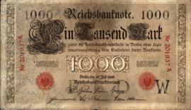 Duitsland P27 1.000 Mark 1906
