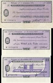 Banca di Trento e Bolzano 100 Lire