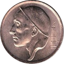 Belgique KM148.1 50 Centimes 1958-98