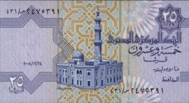 Egypte P57.j 25 Piastres 1985-2008
