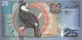 Suriname PLS22.3.a1 25 Gulden 2000