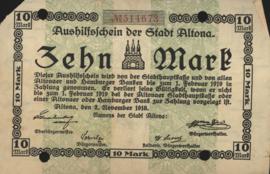 Altona 012.01 10 Mark 1918