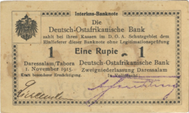 1 Rupee 1915.11.01. Ros 916.p)U11:
