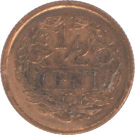 Nederland Sch.1018 1/2 Cent 1936