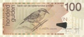 Nederlandse Antillen PLNA20.4.d2 100 Gulden 2008