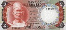 Sierra Leone P6.e 2 Leones 1974-85