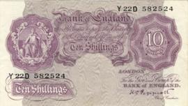 Engeland/VK P366 10 Shillings ND (1940-1948)