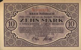 Mosbach 363.02 10 Mark 1918