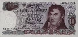 Argentinië P295.a2 10 Pesos 1973-76 (No date)