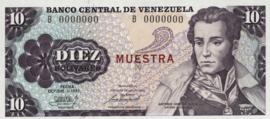 Venezuela P60.s 10 Bolivares 1981