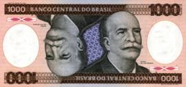 Brazilië P201.c 1.000 Cruzeiros 1981-1986 (No Date)
