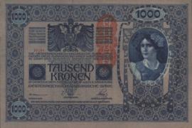 Oostenrijk P59 1.000 Kronen 1919 (No Date)