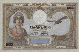 Joegoslavië P29 1.000 Dinara 1931