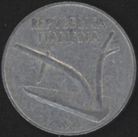Italië KM#93 10 Lire 1966R