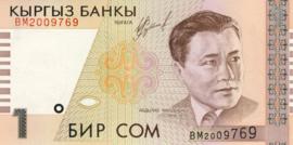 Kirgizië P15 1 Som 1999 KB B10a