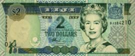 Fiji P104.a 2 Dollars 2002 (No date)