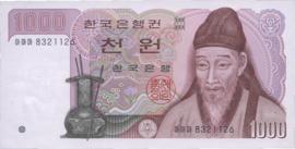 Korea (Zuid) 47 1.000 Won 1983