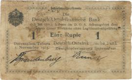 1 Rupee 1915.11.01. Ros 915.02
