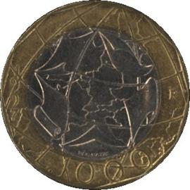 Italië KM194 1.000 Lire 1997-2000