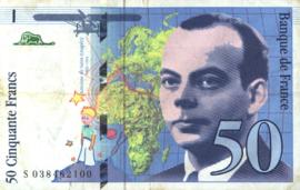 Frankrijk P157A.d 50 Francs 1994