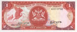 Trinidad en Tobago P36.a 1 Dollar 1985 (No Date)