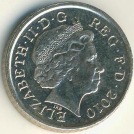 Engeland 5 Pence 2010 KM# 1109