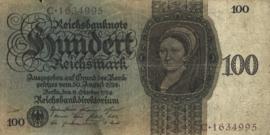 Duitsland P178.Z: C 100 Reichsmark 1924