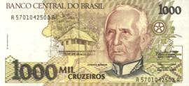 Brazilië P231.a 1.000 Cruzeiros 1990 (No Date)