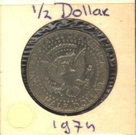 VS/USA ½ Dollar 1974 KM202b