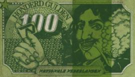 Nationale Nederlanden 100 Gulden (No Date)