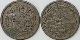 Nederland Sch.1008 1/2 Cent 1912