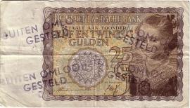 Nederland PL62.BO2.c3: 25 Gulden 1940