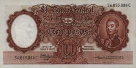 Argentinië P272.c2 100 Pesos 1951 (No date)