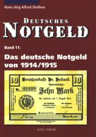 Duitsland Band 11 Das deutsche Notgeld von 1914/1915